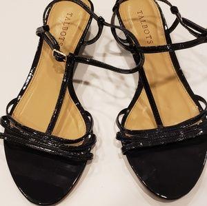 Talbots sandals Navy